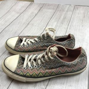 CONVERSE Missoni Multi-Color Converse All Star